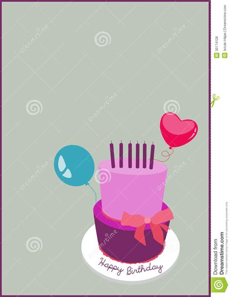 birthday invitation card background royalty  stock