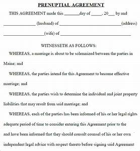 top 5 resources to get free prenuptial agreement templates With online prenuptial agreement template