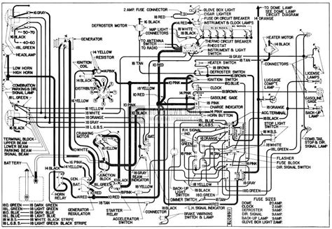 55 Cadillac Wiring by 1955 Buick Electrical Systems Maintenance