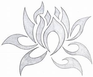 28+ Tribal Lotus Tattoos Collection