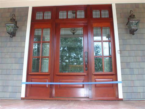 exterior doors including sidelights  transoms bills