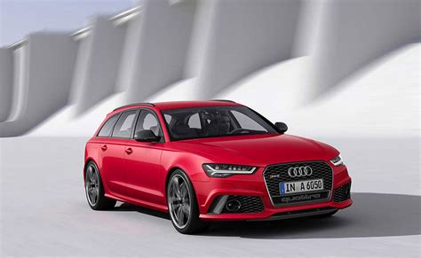 2015 Audi S6, S6 Avant And Rs6 Avant  95 Octane