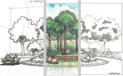 landscape architecture drawing beloose member spotlight abdul hakim kussim part 1