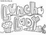 Classroom Coloring Pages Doodles Appreciation Doodle Teacher Community Week Lunch Lady Classroomdoodles Thank Nurses Teachers Gifts Luncheon Cards Nurse Colouring sketch template