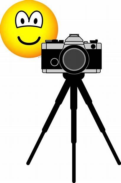 Camera Tripod Emoticon Emofaces Emoticons Sized