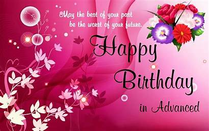 Birthday Happy Wishes Wallpapers Advance Wish Greetings