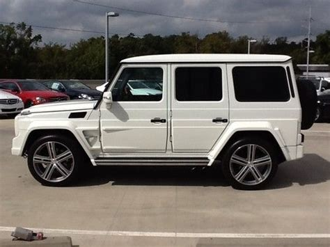 Purchase Used 2011 Mercedes-benz G55 Amg Brabus 5.5l