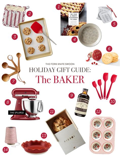 holiday gift guide the baker fork knife swoon
