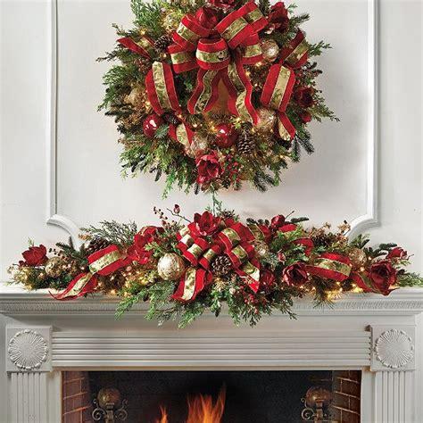 christmas garland ideas frontgate christmas garland christmas ideas pinterest