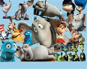 Characters From Horton Hears a Who