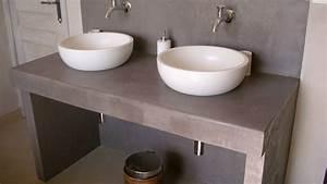 Jambage Plan De Travail : quel plan de travail choisir pour votre salle de bain nos conseils d co ~ Melissatoandfro.com Idées de Décoration