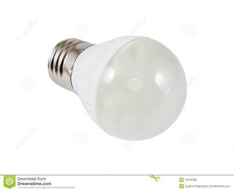 energy saving smd led light bulb royalty free stock images