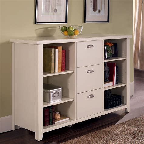White Bookcase Cabinet by Kathy Ireland Home By Martin Tribeca Loft Bookcase Filing