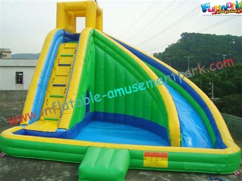 backyard water slides for adults green waterproof outdoor water slides