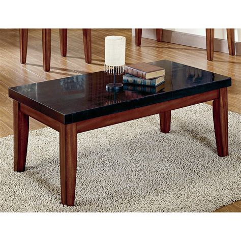 marble top coffee table set steve silver montibello granite top coffee table marble
