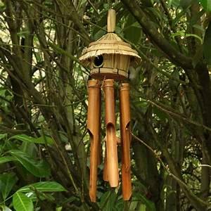 Fabriquer Un Carillon : carillon vent bambou nature d couvertes ~ Melissatoandfro.com Idées de Décoration