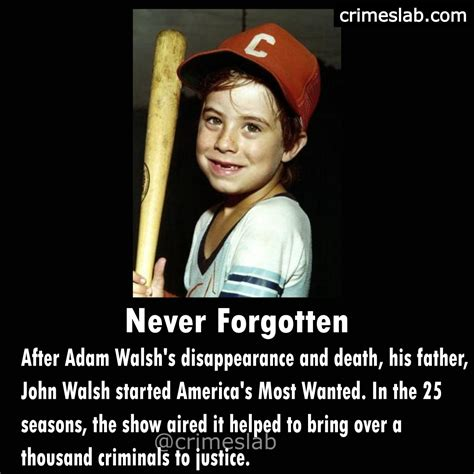 Adam Walsh The Missing Child Case That Changed America