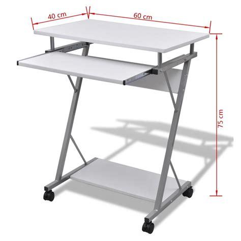 tables de bureau la boutique en ligne table de bureau blanche pour