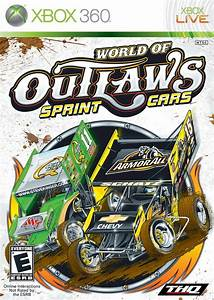 World Of Outlaws Sprint Cars Xbox 360 Game