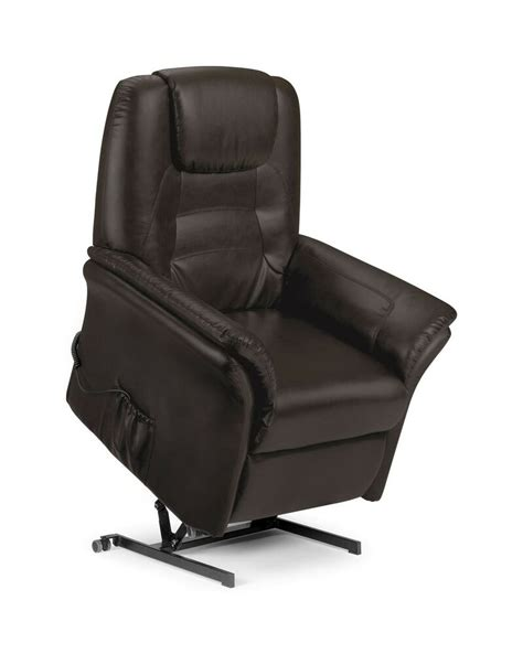 Light Brown Recliner Chair by Riva Electric Recliner Chair Brown Faux Leather New