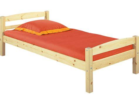 canapé lit 1 place conforama lit 90 x 200 cm harry 5 coloris naturel vente de lit