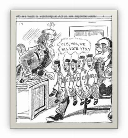 Fdr Court Cartoon Political Deal Cartoons Packing