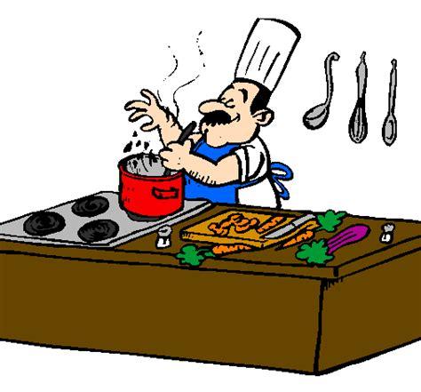 dessin de cuisine à imprimer dessin de cuisinier dans la cuisine colorie par membre non