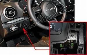 Audi A3    S3  8v  2013  2015  2016  2017  2018  Fuse Box