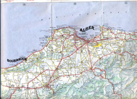 Carte Sat Algerie by Alg 233 Rie Carte Satellite