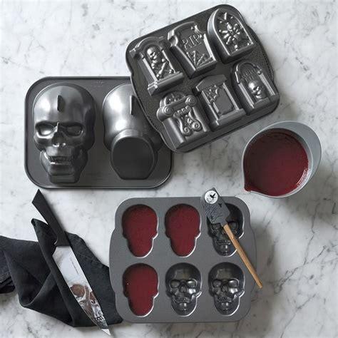 nordic ware halloween mini skull cakelet pan williams sonoma au