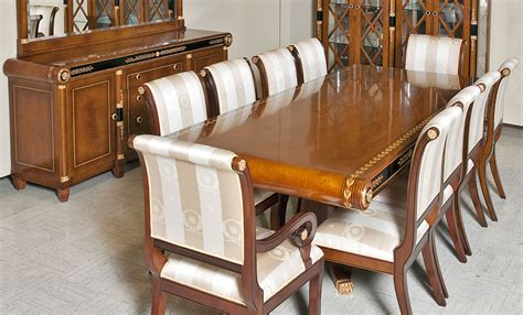 european style kitchen tables european empire style dining room furniture in cherry wood