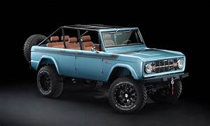 Maxlider 1966 4-Door Ford Bronco 'Four Horseman' Custom | Cool Material