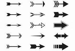 Image result for Free Clipart Of Many Arrows