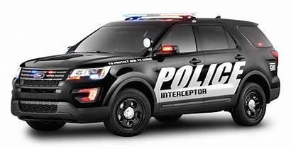 Police Transparent Ford Interceptor