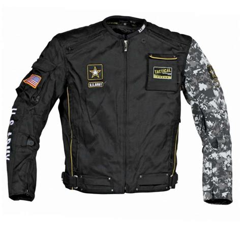 motorcycle jacket vest joe rocket u s army alpha motorcycle riding jacket black