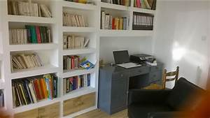 Comment Faire Une Bibliothèque : comment faire une biblioth que en placo youtube ~ Dode.kayakingforconservation.com Idées de Décoration
