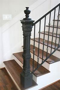 Iron Newel Post