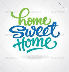 Bilder Home Sweet Home : 39 home sweet home 39 hand lettering vector by letterstock graphicriver ~ Sanjose-hotels-ca.com Haus und Dekorationen