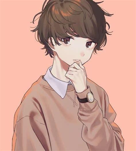 foto anime sad boy keren