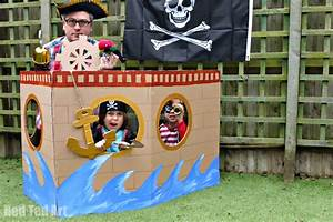 How to Make a Pirate Party Photo Booth Party Delights Blog