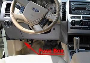 Fuse Box Diagram  U0026gt  Ford Edge  2007