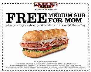 Buy a Sandwich for Yourself, Get One FREE for Mom at ...