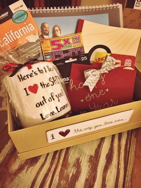 st anniversary paper gift box idea  husband paper