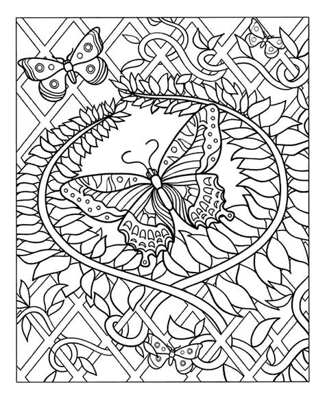 Free Difficult Coloring Pages For Adults