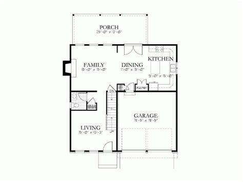 Small Kitchen Design Ideas - simple house blueprints measurements blueprint small home plans blueprints 69964