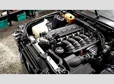 BMW e30 s50b32 engine start YouTube