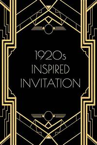 New Years Invitation Templates Free 20 39 S Years Cabaret Photos Use This 1920s Inspired