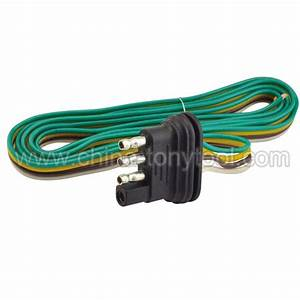 China Wishbone Style Trailer Wiring Harness With 4