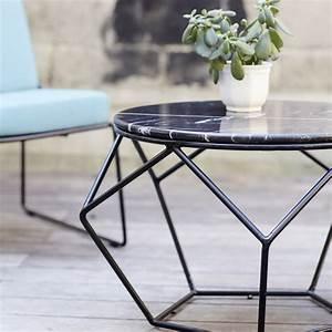 Table Basse Marbre But : table de jardin en marbre vente tables basses bi mati re tikamoon ~ Teatrodelosmanantiales.com Idées de Décoration