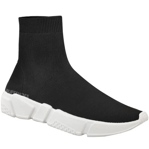 Trainer Socks With Boat Shoes new womens sneakers trainers sock runners comfy